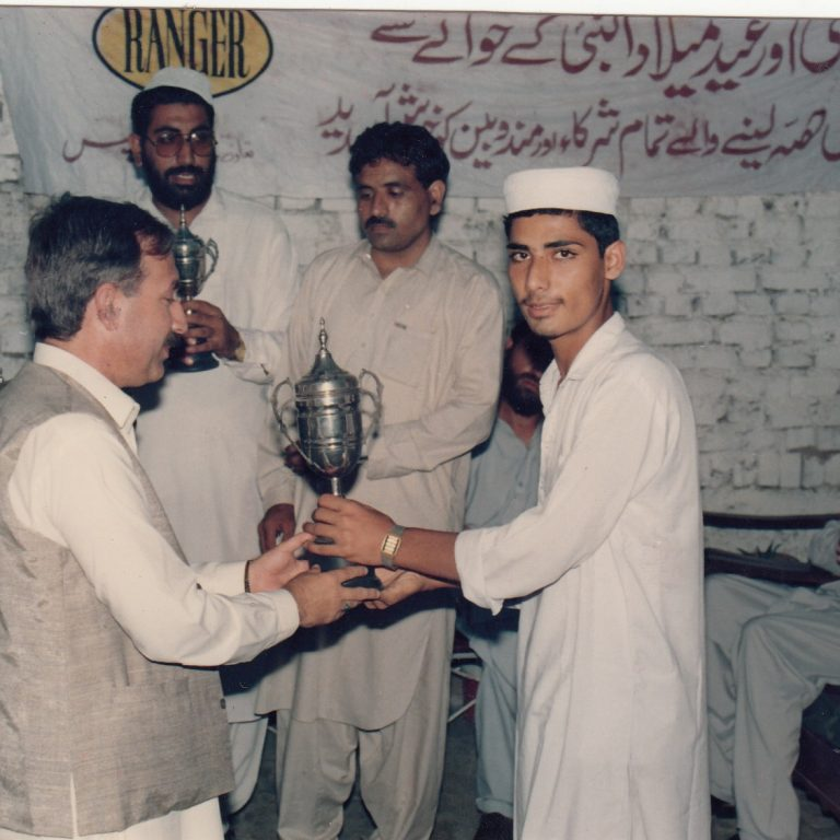 Awarding Prizes among Youth on Debates.