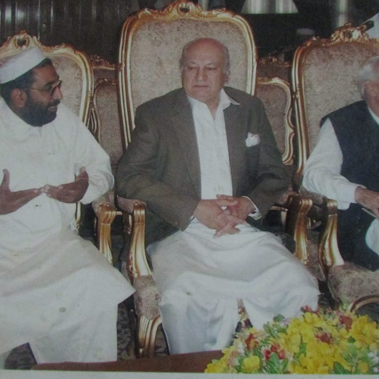 Meeting With Bridg. KHalilur Rehman, Former Governor KP