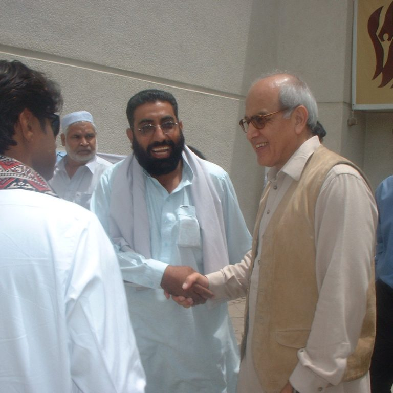 Meeting With Mr. Farooq Laghari, Former President of Pakistan.