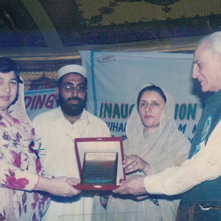 Mr. Gul Akbar Sabir with Ms. Zubaida Jalal, Federal Minister for Education & Ms. Aneesa Zeb, Federal Minister for Information